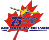 Air Cadet League of Canada (75th Anniversary) (logo)